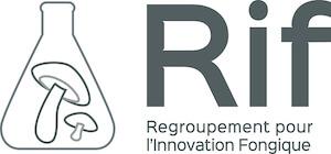 Logo du Regroupement pour l'innovation fongique (RIF)